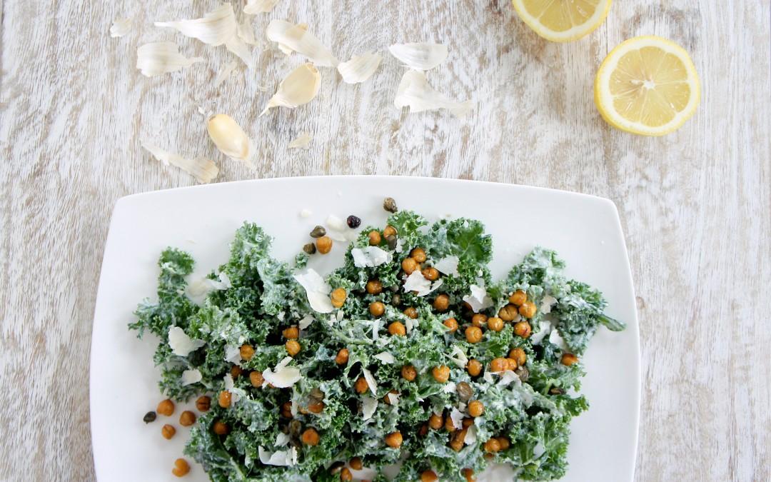 Lindsay's Famous Kale Caesar Salad