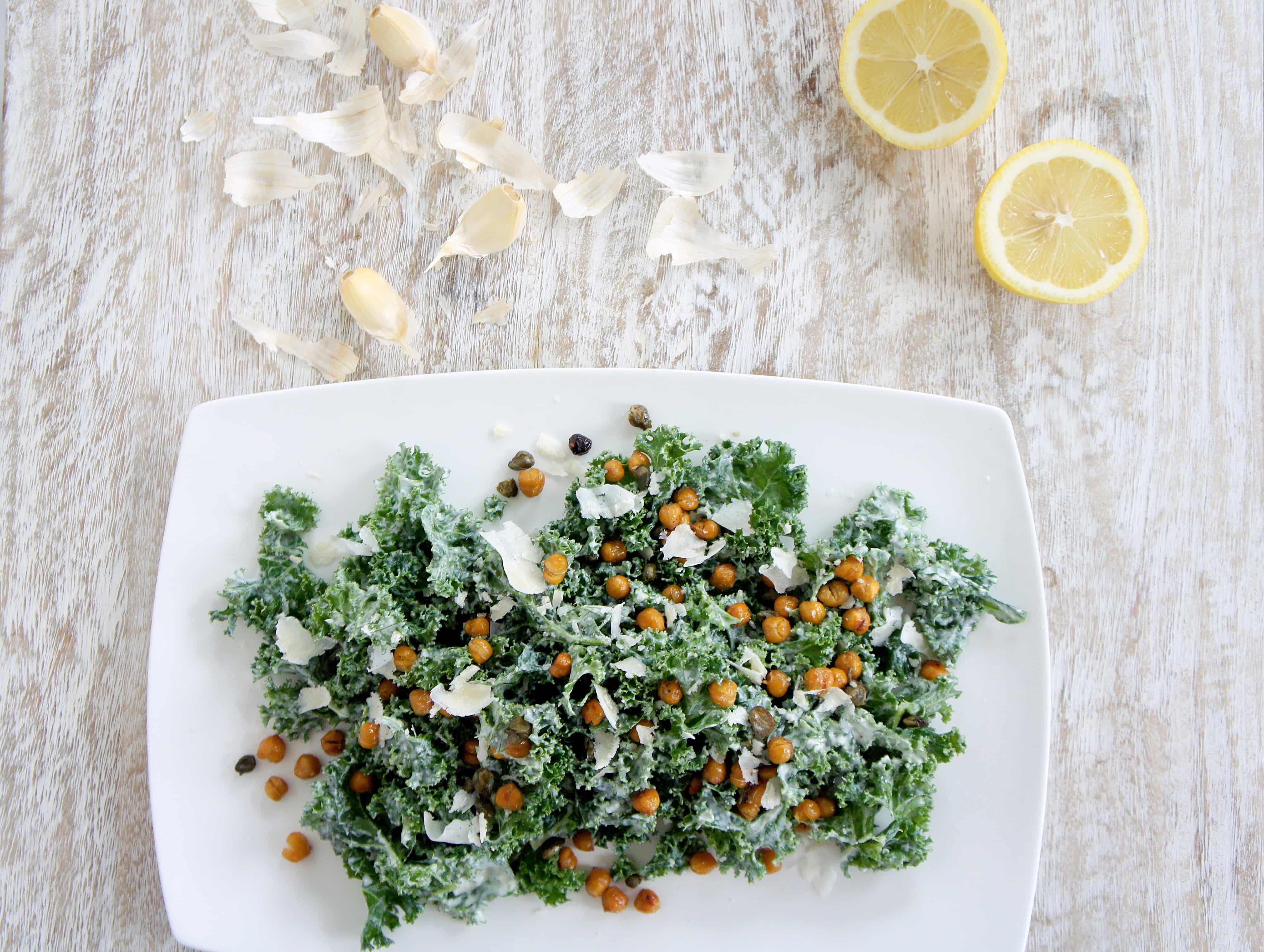 kale ceasar top down lemons 2
