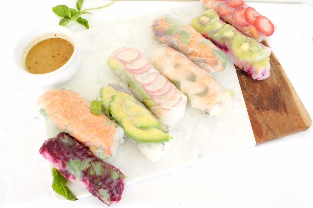 Salad Rolls 1