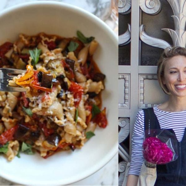 Interview Series Part 3: Miranda Hammer, RD + Slow Roasted Tomato and Eggplant Pasta