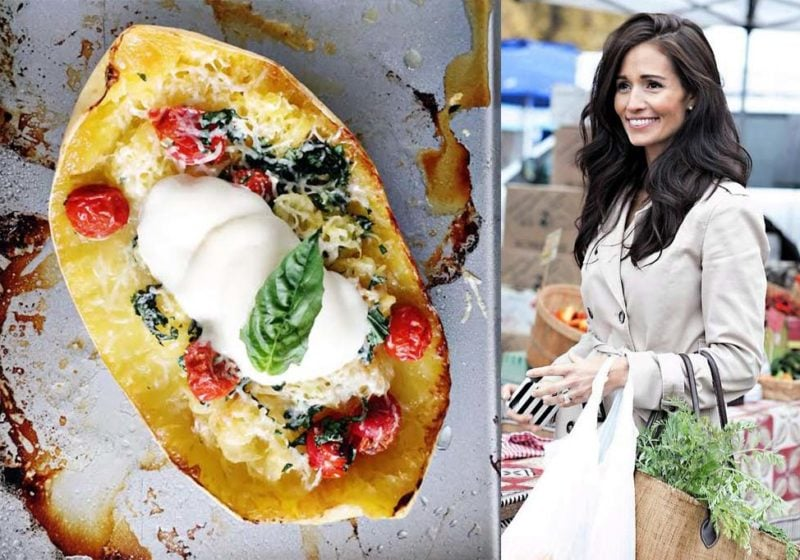 Tori Wesszer, Registered Dietitian and Caprese Spaghetti Squash.