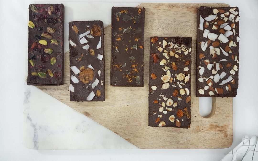 DIY Fruit, Nut and Flower Laced Chocolate Bars