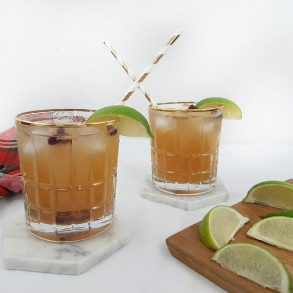 Ginger Pomegranate Kombucha Moscow Mule