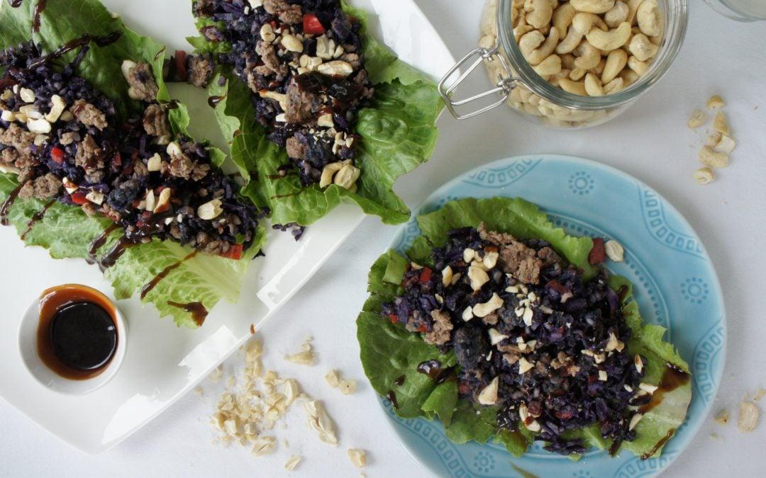 Shanghai Lettuce Wraps from The 3-2-1 Method