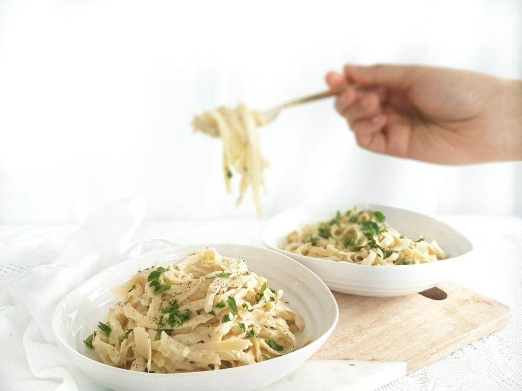 Cauliflower Fettuccini Alfredo