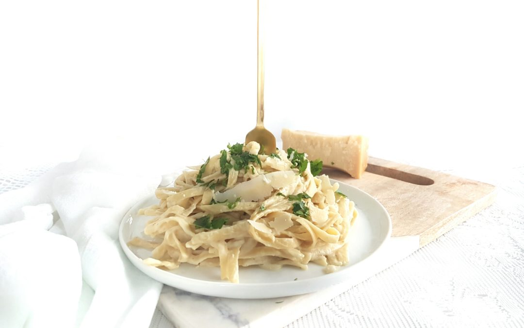 Best Ever Cauliflower Fettuccini Alfredo