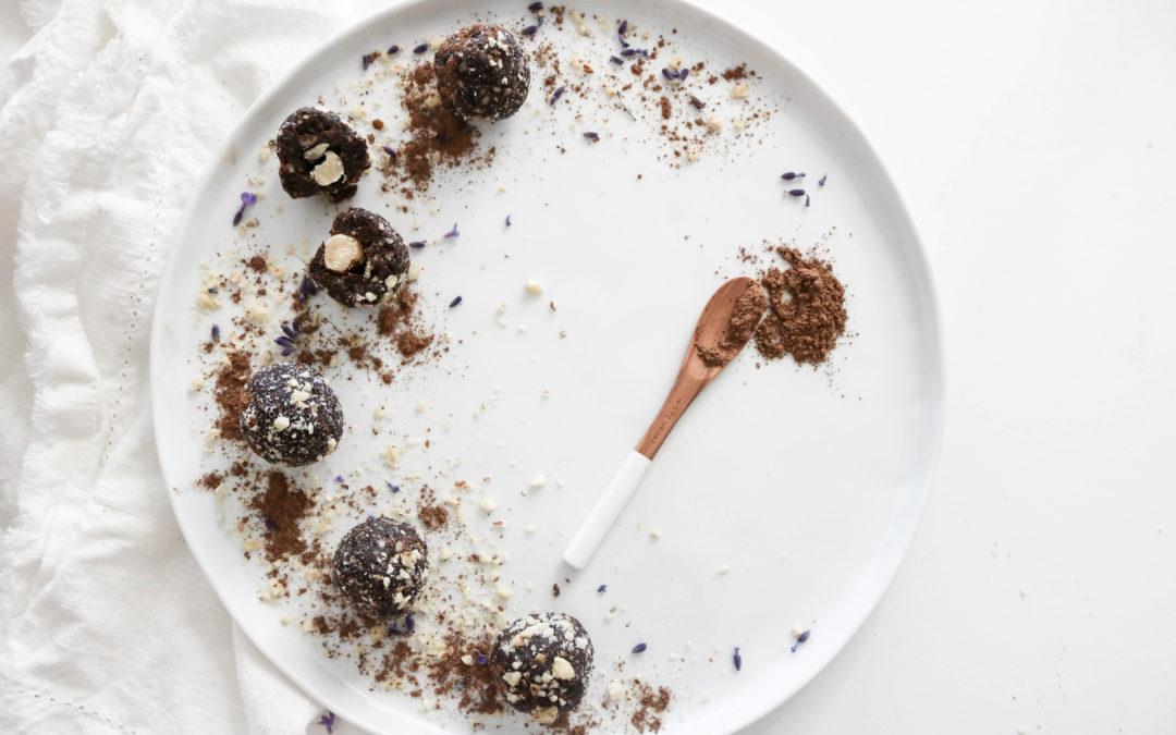 Healthy Ferrero Rocher Energy Truffles