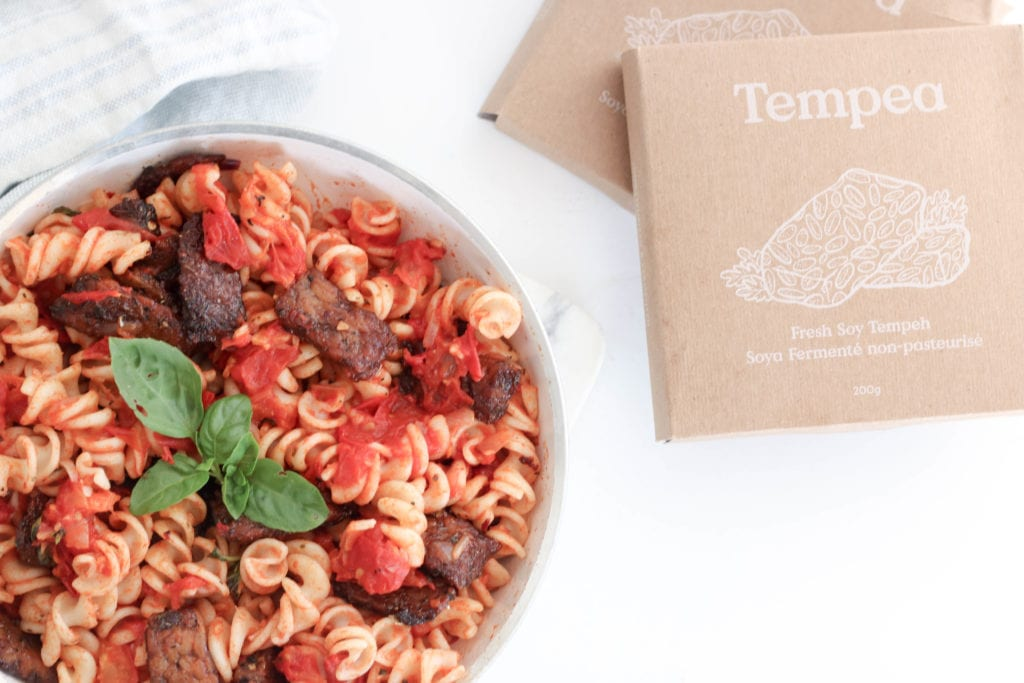 You Won't Miss The Meat In This Spicy Tempeh 'Sausage'