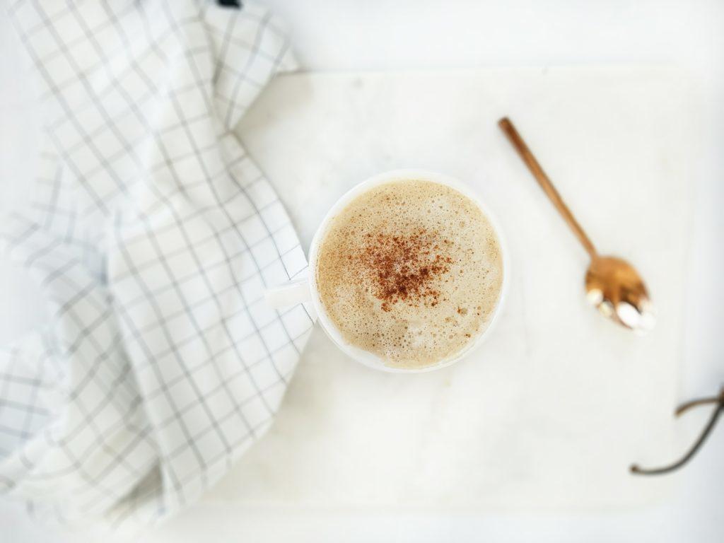Image of Best Ever DIY Pumpkin Spice Latte, a recipe in the Healthy Pumpkin Recipes Roundup