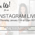 Join us for an Instagram Live on the @fraichenutrition Instagram Page!