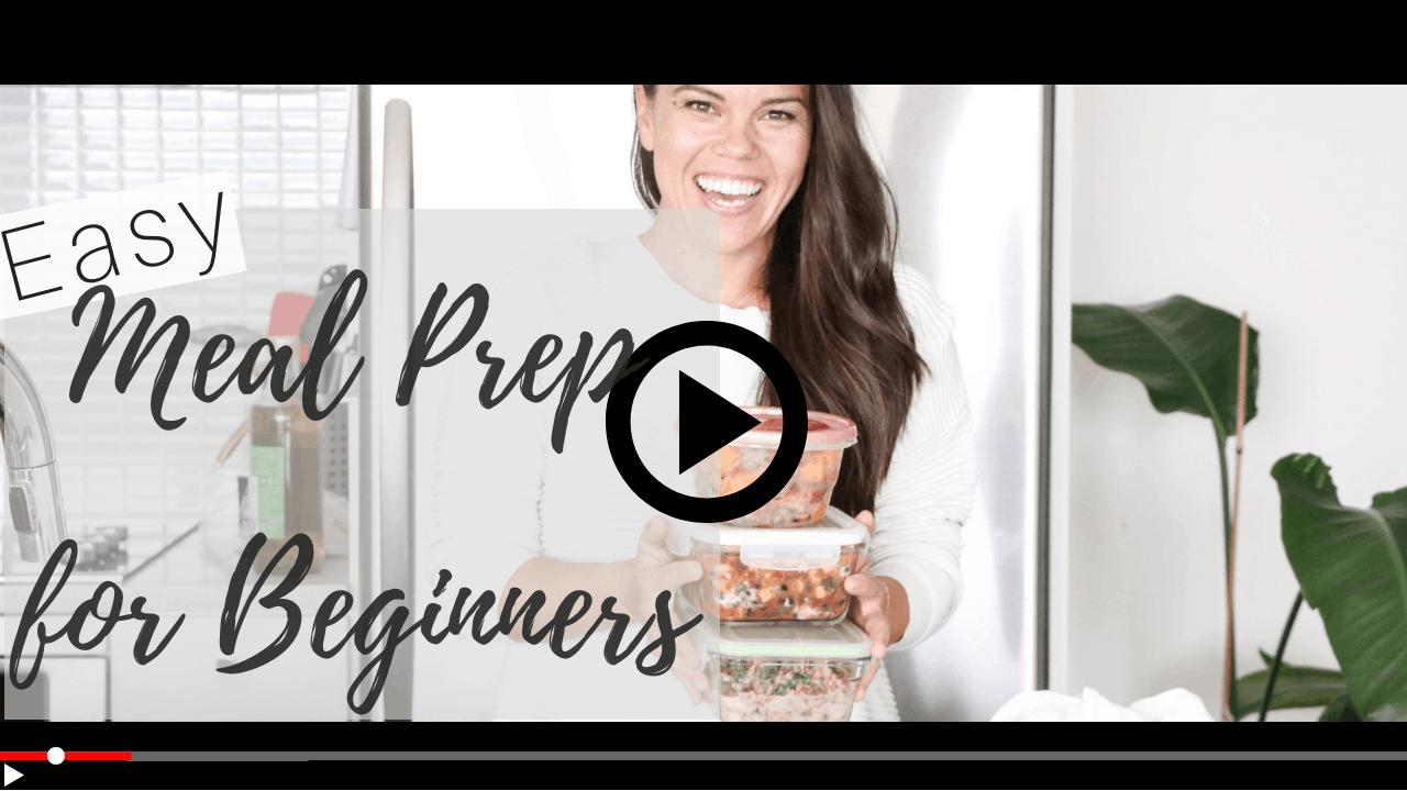 Lindsay Pleskot shows Easy Meal Prep for Beginners