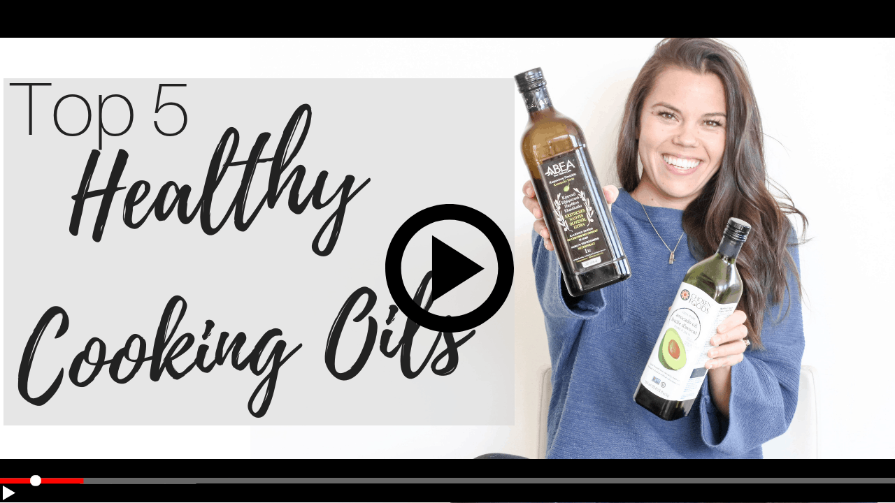 watch lindsay pleskot's cooking oils comparison on YouTube