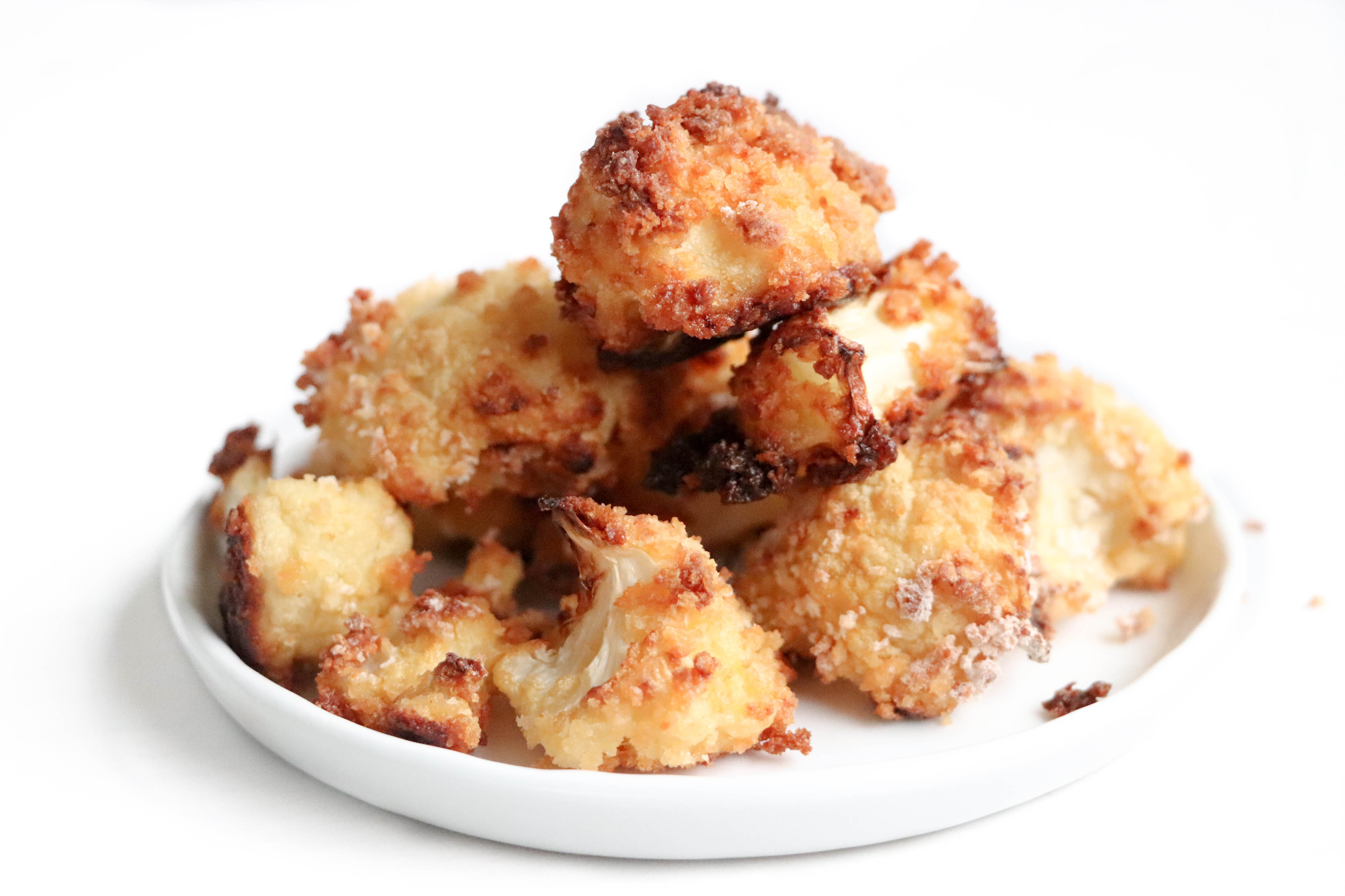 Crispy Cauliflower- Crispy Honey Garlic Cauliflower Bowls