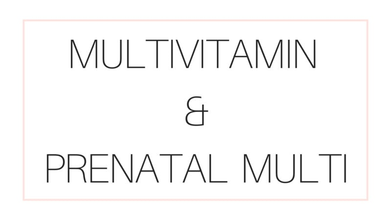 Registered Dietitian Lindsay Pleskot Shared her recommendations for best women multivitamin and prenatal vitamins