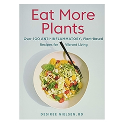 Eat More Plants book on white background