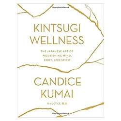 Kintsugi Wellness Book with a white background