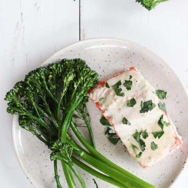 Easy Miso-Yogurt Oven-Baked Salmon