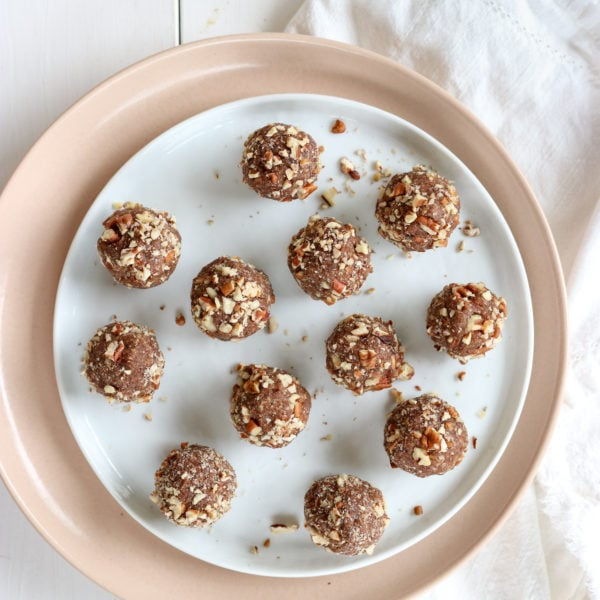 Pecan Pie Energy Balls (Vegan & Gluten-Free)